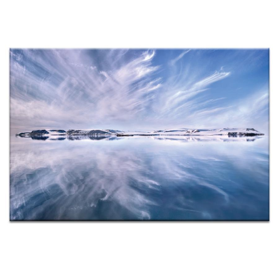 Artic Reflection Photograph Artwork Home Decor Wall Art at Lifeix Design