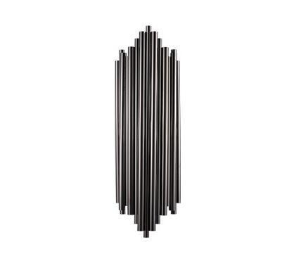 Asymmetrical Nordic-Style Iron Pipe Lamp - Simple Post-Modern Wall Lighting at Lifeix Design