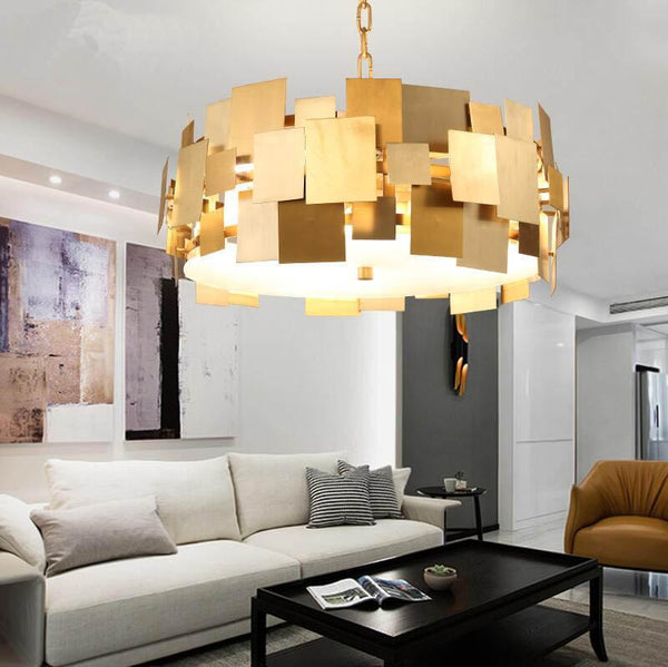 Shop for lighting at lifeix design chandelierpendant floor lamp asymmetrical square pendant light rotating stainless steel ceiling lamp at lifeix design aloadofball Images