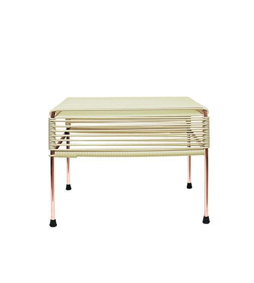 Buy Atom Ottoman on Copper Frame at Lifeix Design for only $250.00