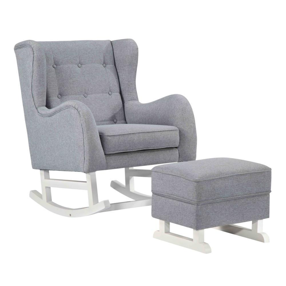 Gray Baby Lounge Chair