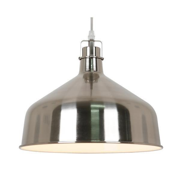 Satin Nickel / Single Banbury Pendant Lamp