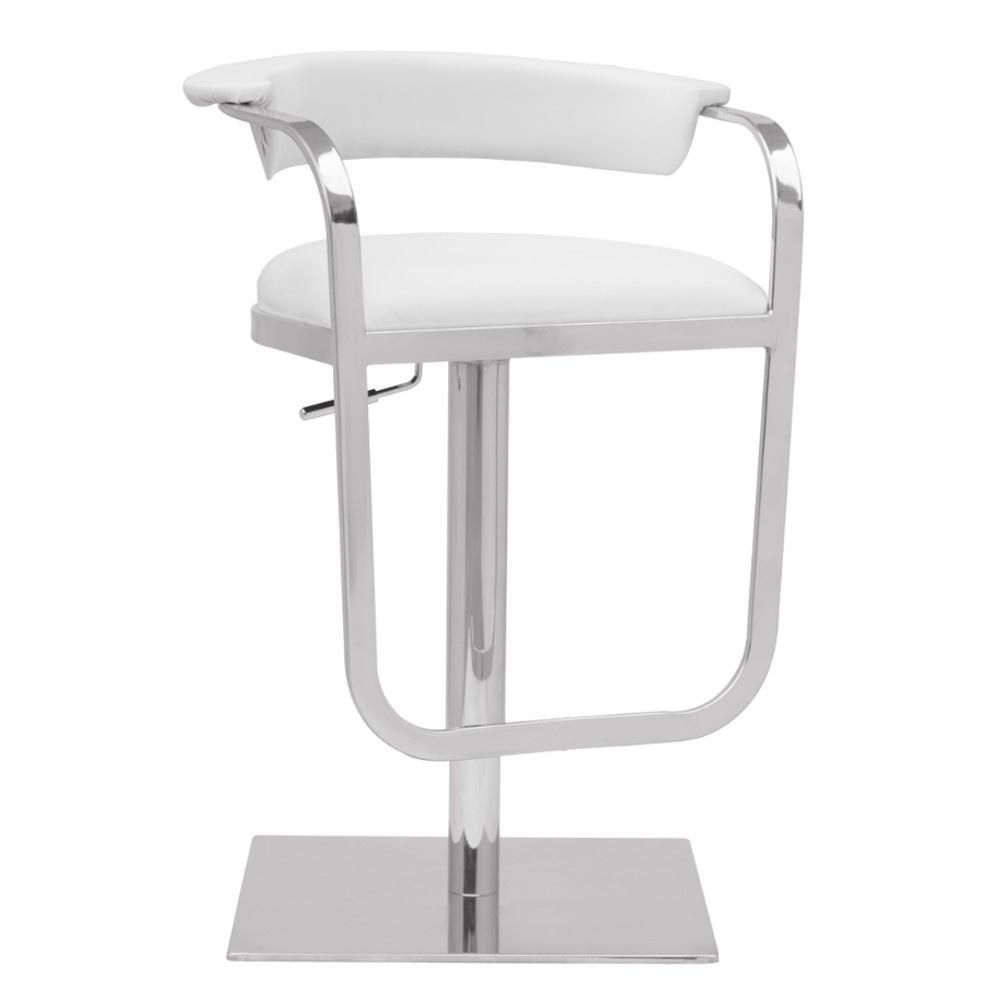White Barb Bar Stool
