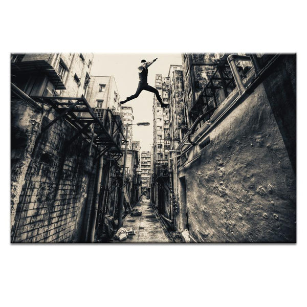 Behind Street Photograph Artwork Home Decor Wall Art at Lifeix Design