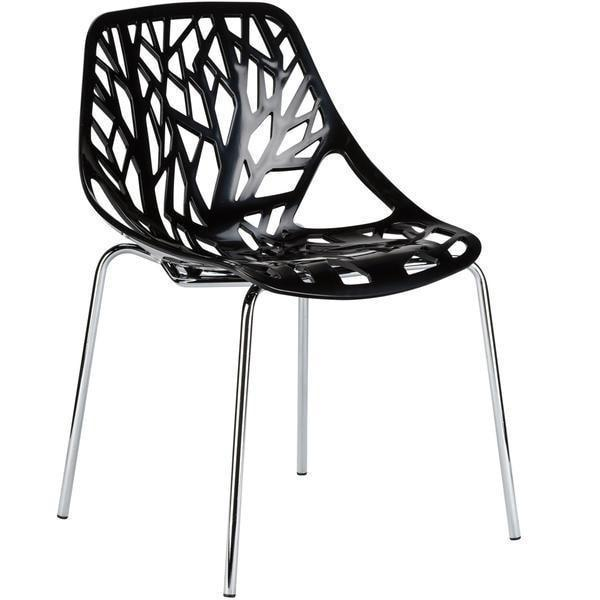 Chairs Black / Single Birds Nest Dining Side Chair