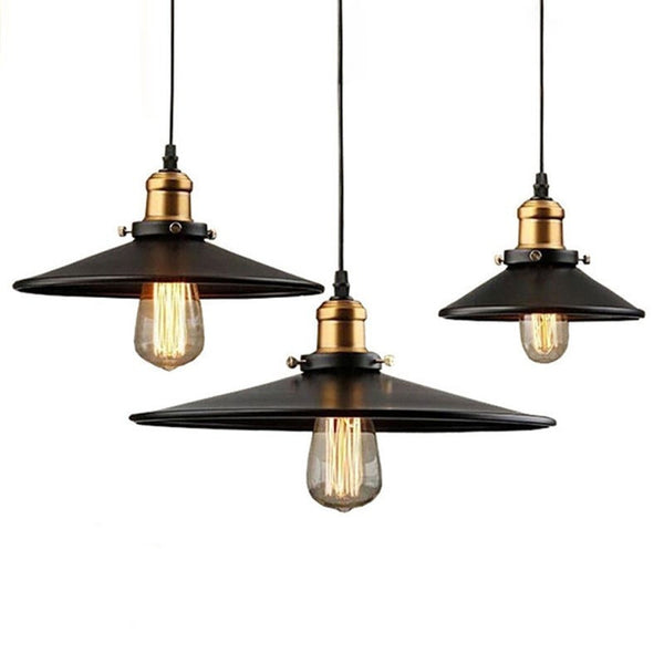 ceiling light Black Industrial Style Pendant Light