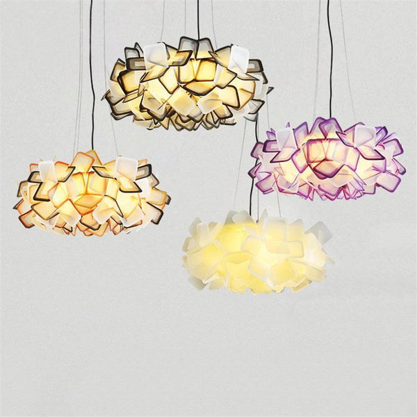 Blossoming Flower Acrylic Pendant Lights at Lifeix Design