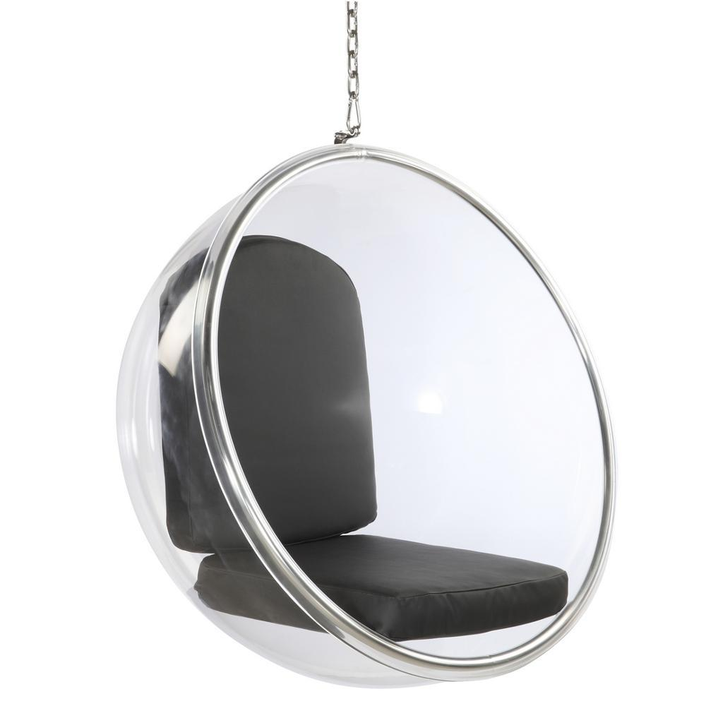 Exceptional Black Bubble Hanging Chair