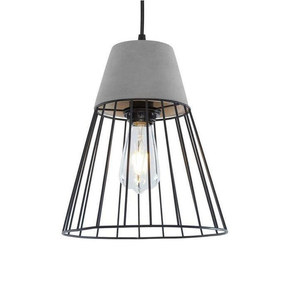 Burgess Caged Pendant Lamp at Lifeix Design