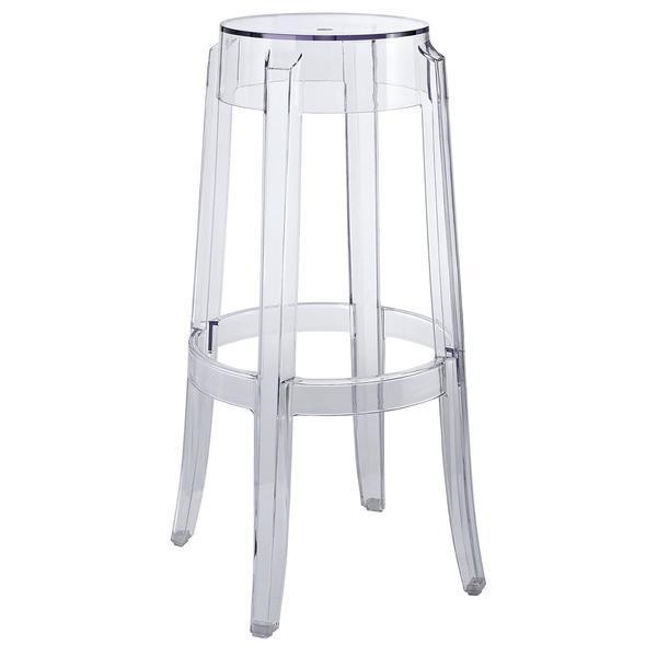 Chairs Burton Bar Stool in Clear