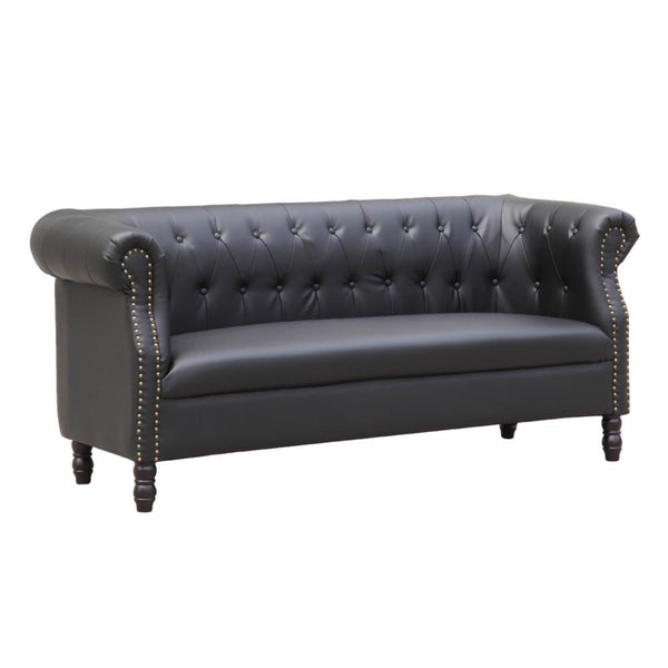 Black Chester Sofa