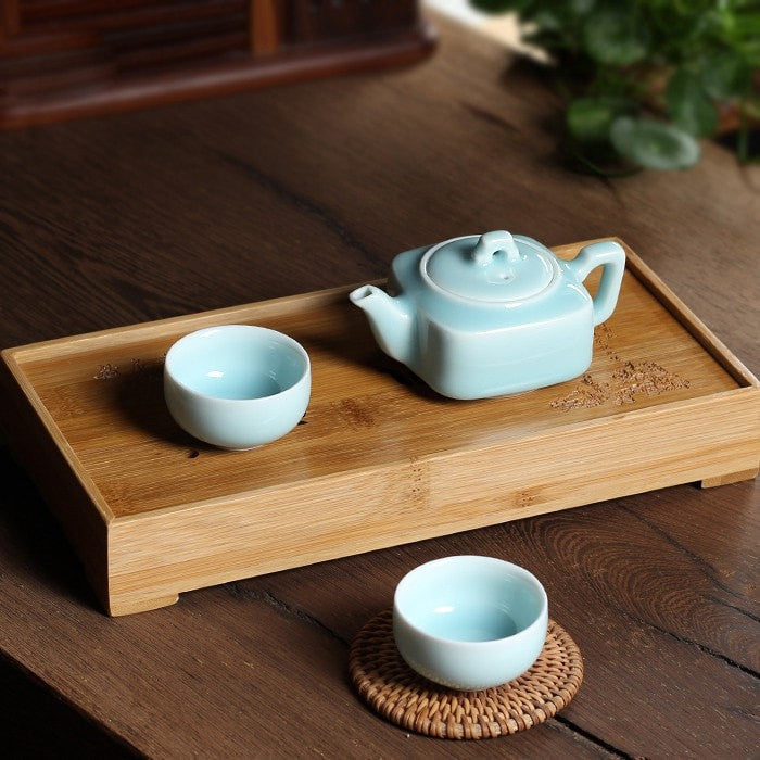 Chinese Porcelain Kung Fu Mini Tea Set