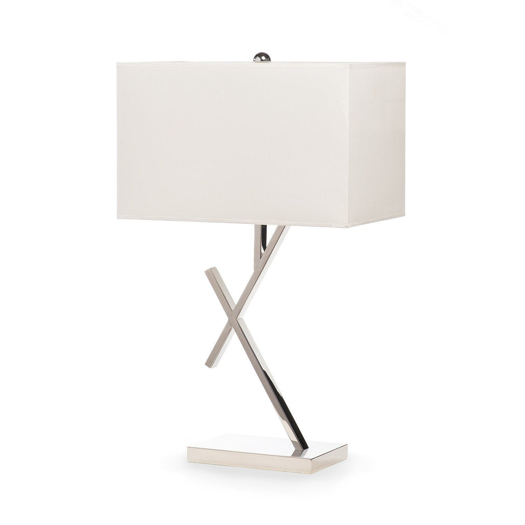 Chrome Ladder- 3 Brightness Settings- Table Lamp