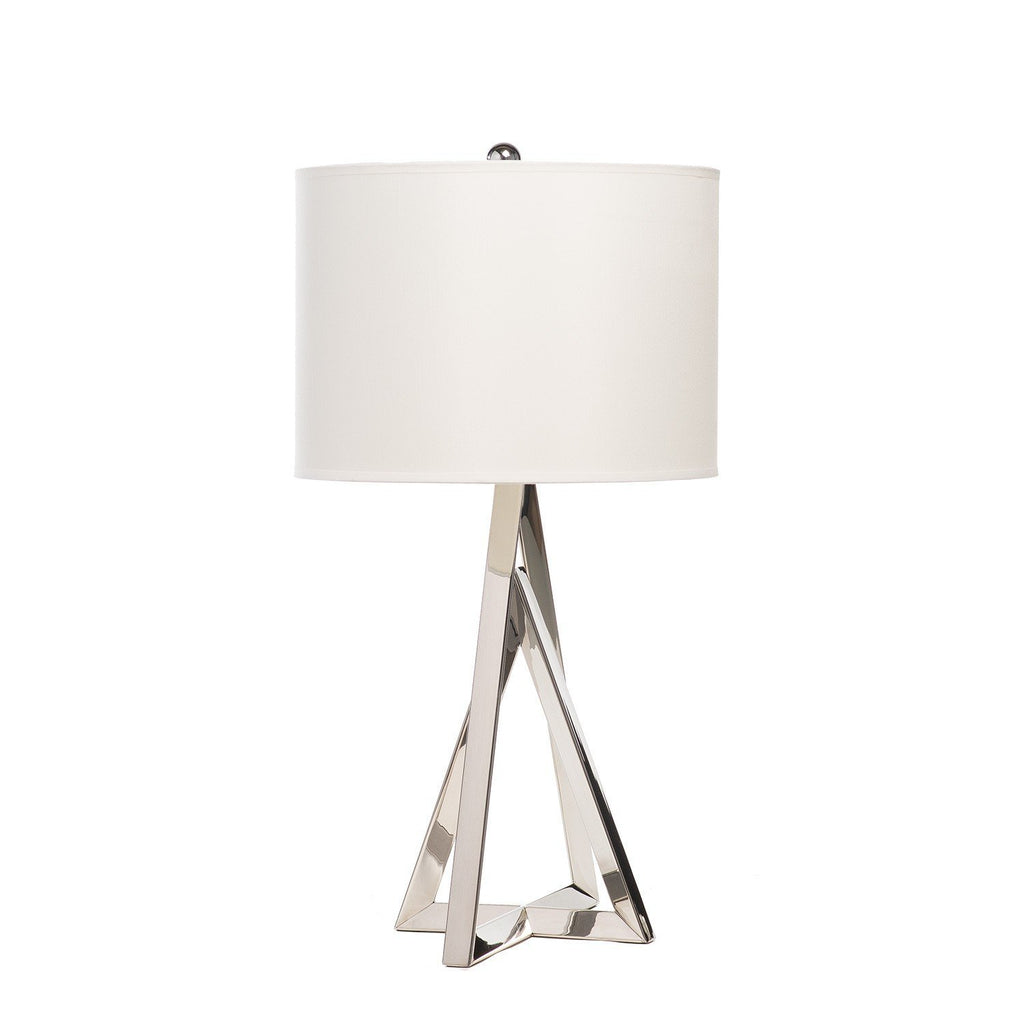 Chrome Pyramid- 3 Brightness Setting Table Lamp