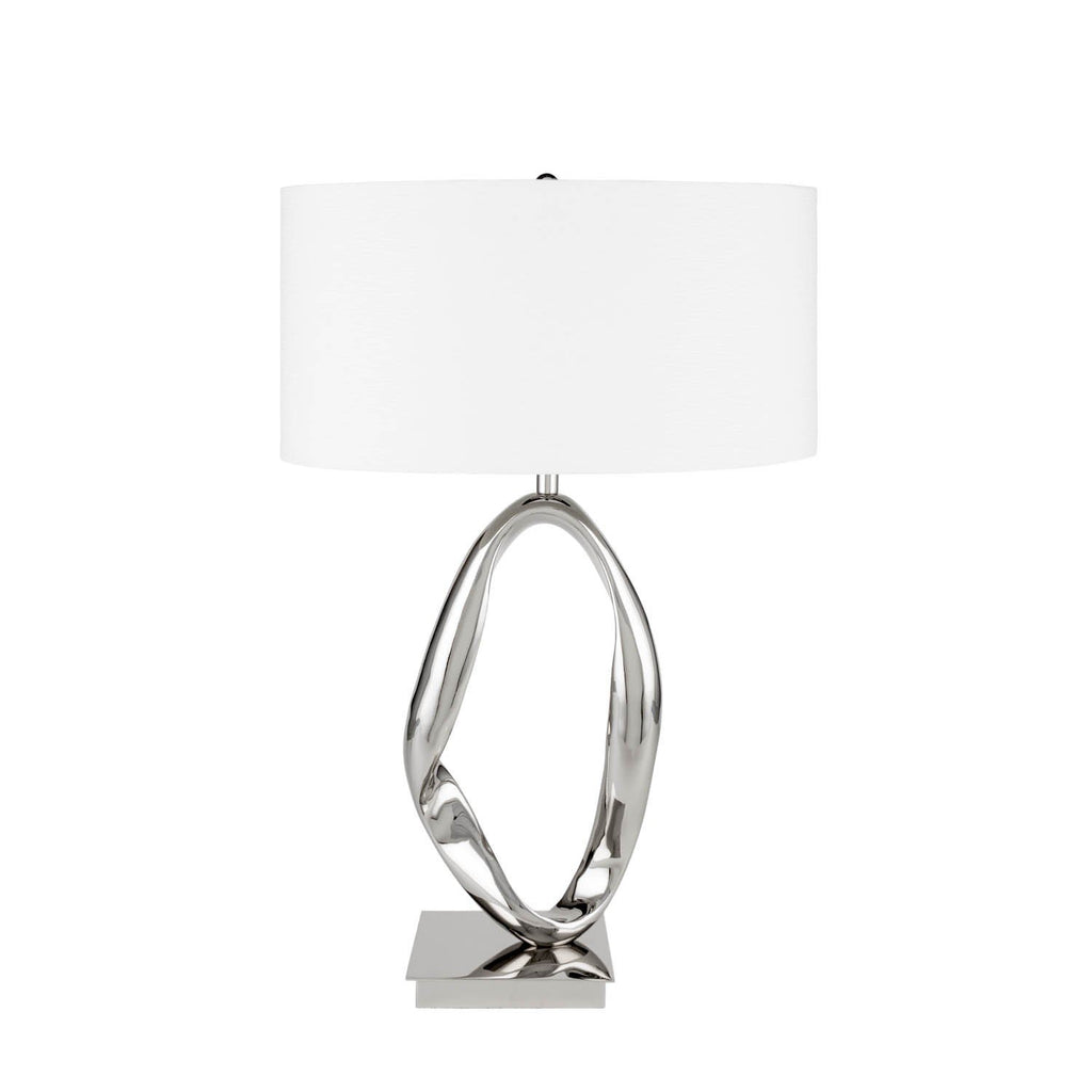 Circle Chrome- 3 Brightness Settings-Table Lamp