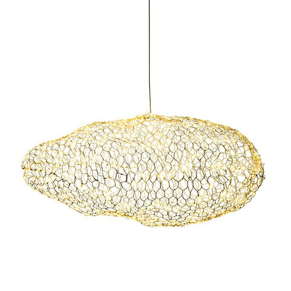 CLOUD Modern Metal Mesh Irregular Pendant Light at Lifeix Design