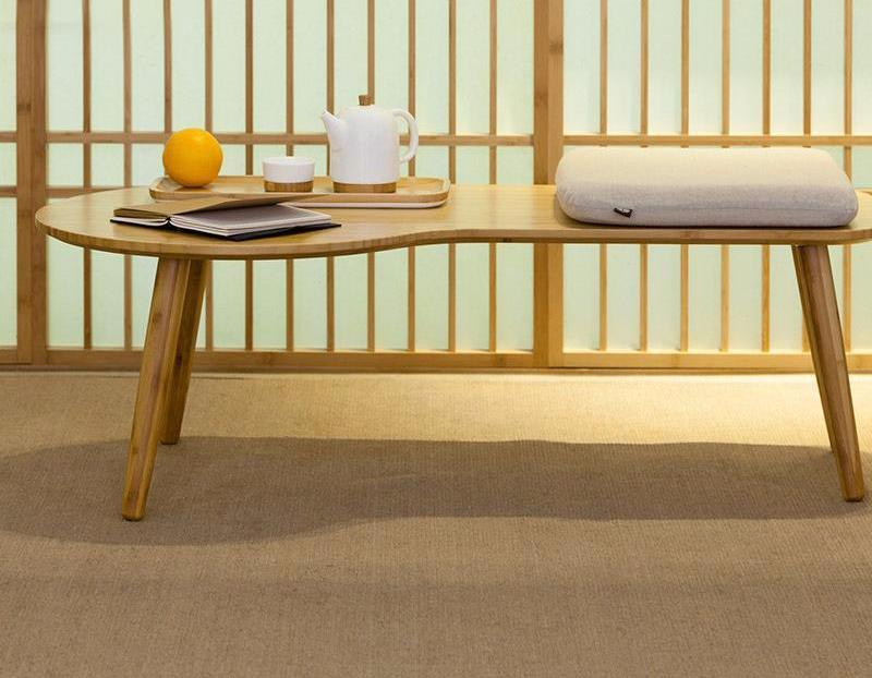 CLOUD Natural Bamboo Coffee Table at Lifeix Design