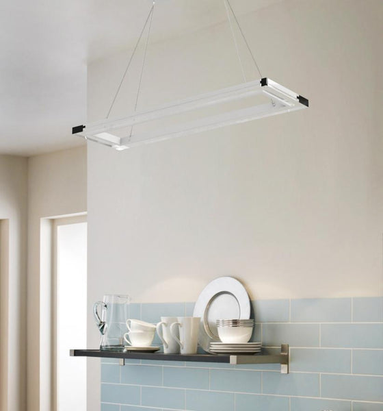 Pendant Light CLOUD Rectangular Pendant Light by Lifeix