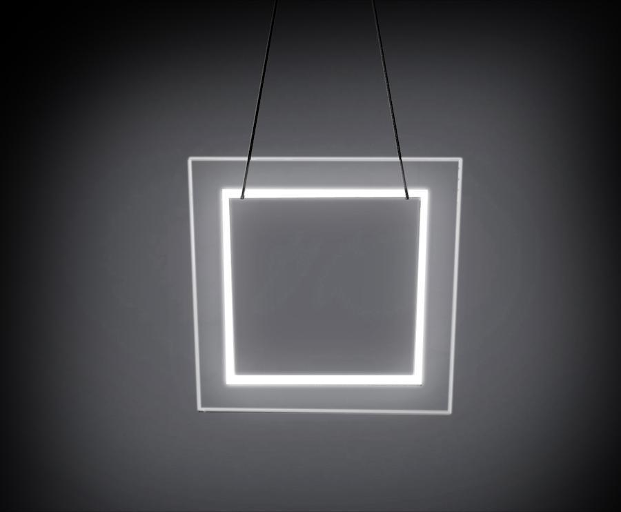 Pendant Light Transparent CLOUD Square Pendant Light by Lifeix