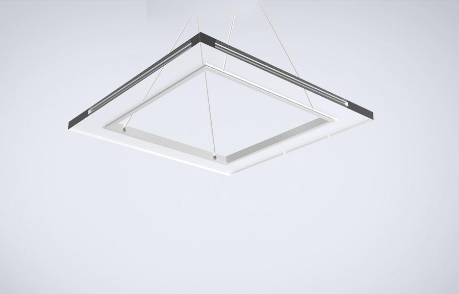 Pendant Light CLOUD Square Pendant Light by Lifeix