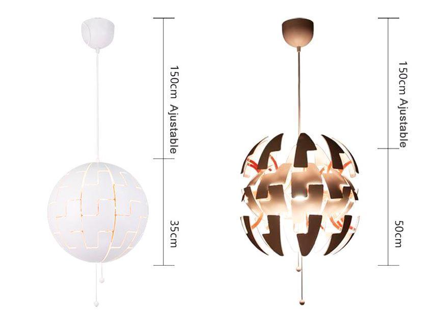 Cracking Egg Interactive Pendant Light at Lifeix Design