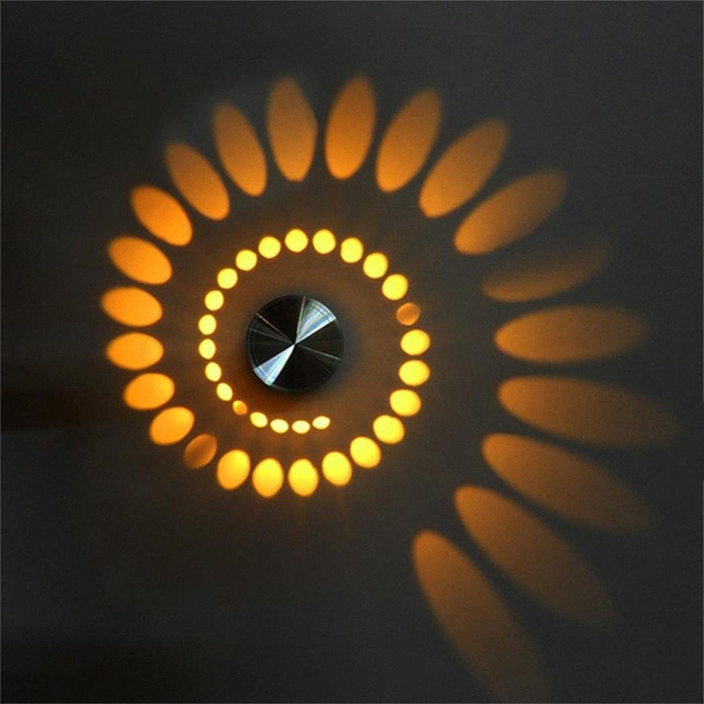 Buy Creative Radiating Led Wall Light At Lifeix Design For