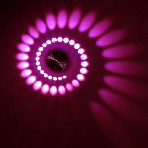 wall light Pink Creative Radiating LED Wall Light