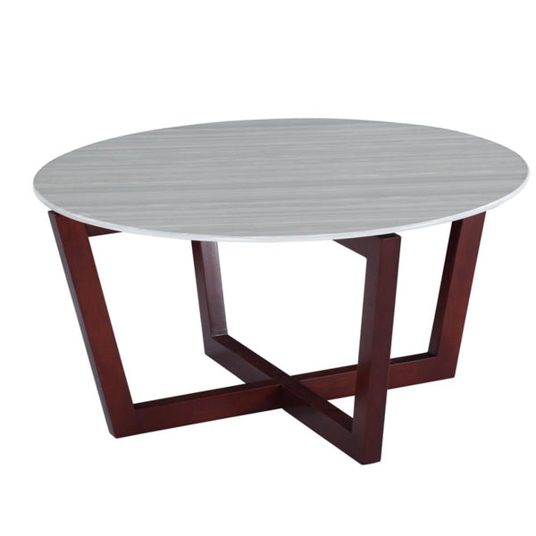 Cherry Cross Coffee Table