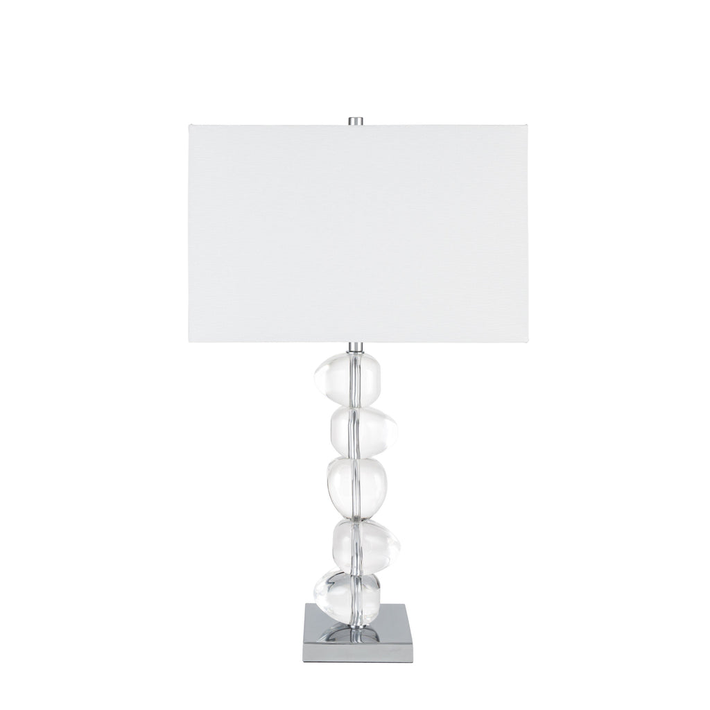 Crsystal Rocks- 3 Brightness Settings-  Table Lamp