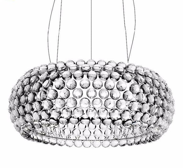Crystal Bubbles Transparent Pendant Light Chandelier at Lifeix Design