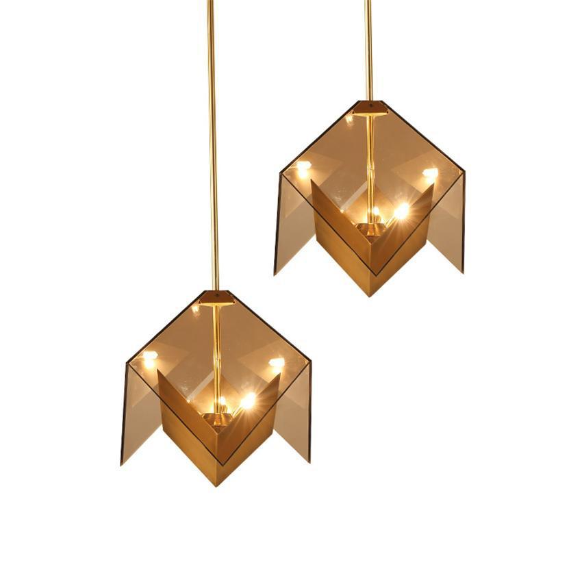 Cube Origami Style Pendant Light at Lifeix Design