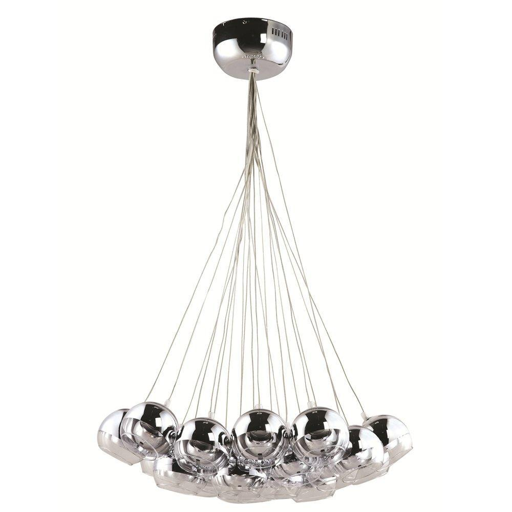 Clear Cup Hanging Chandelier
