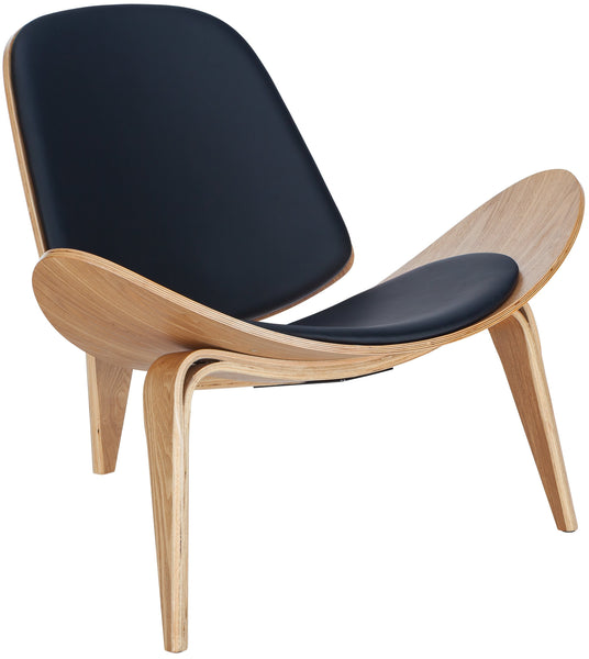 Chair Natural Curved Plywood Lounge Chair
