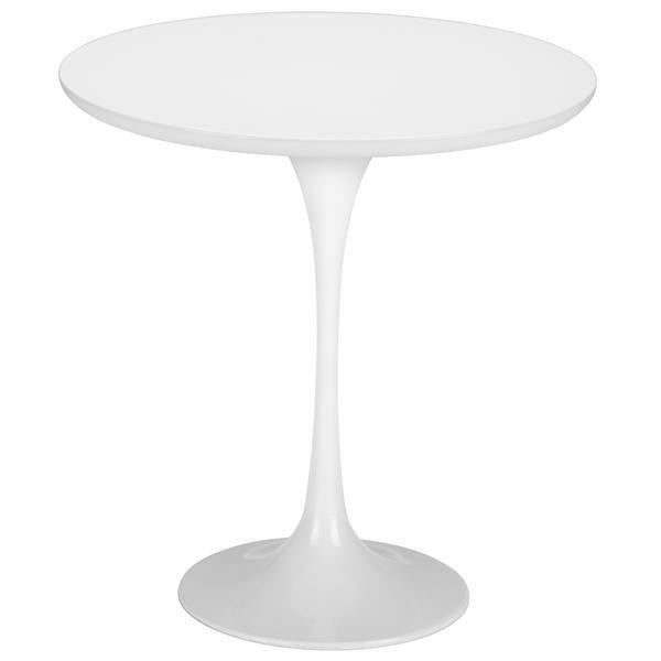 "table White / Single Daisy 20"" Wood Side Table Base"
