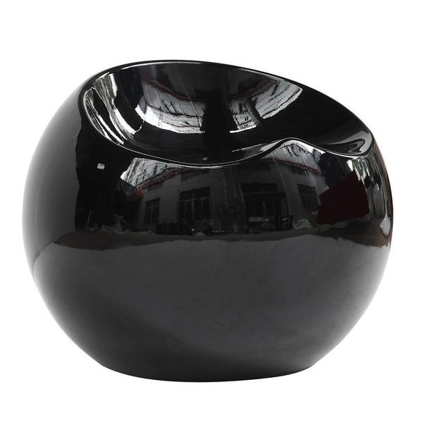 Black Dewdrop Stool