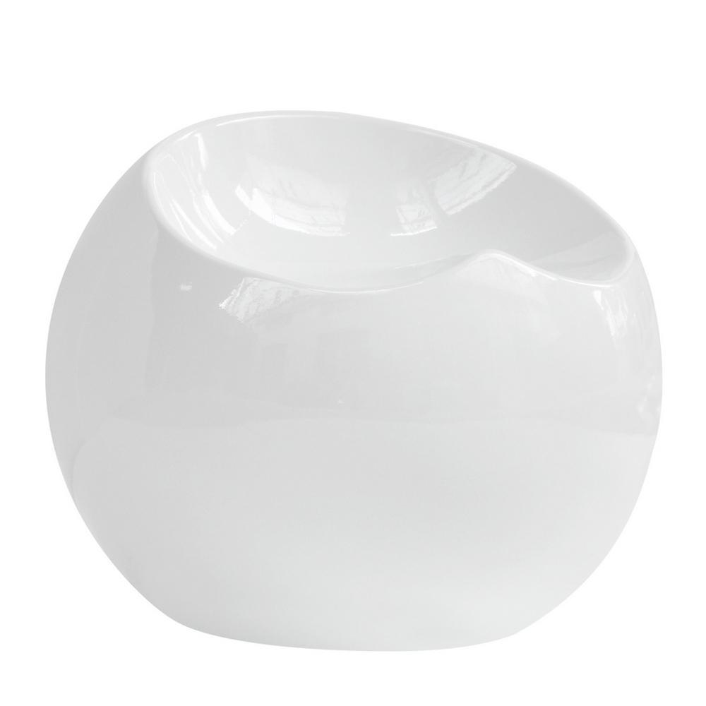 White Dewdrop Stool