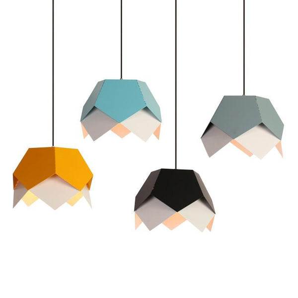 Double Layer Origami Style Pendant Lights at Lifeix Design