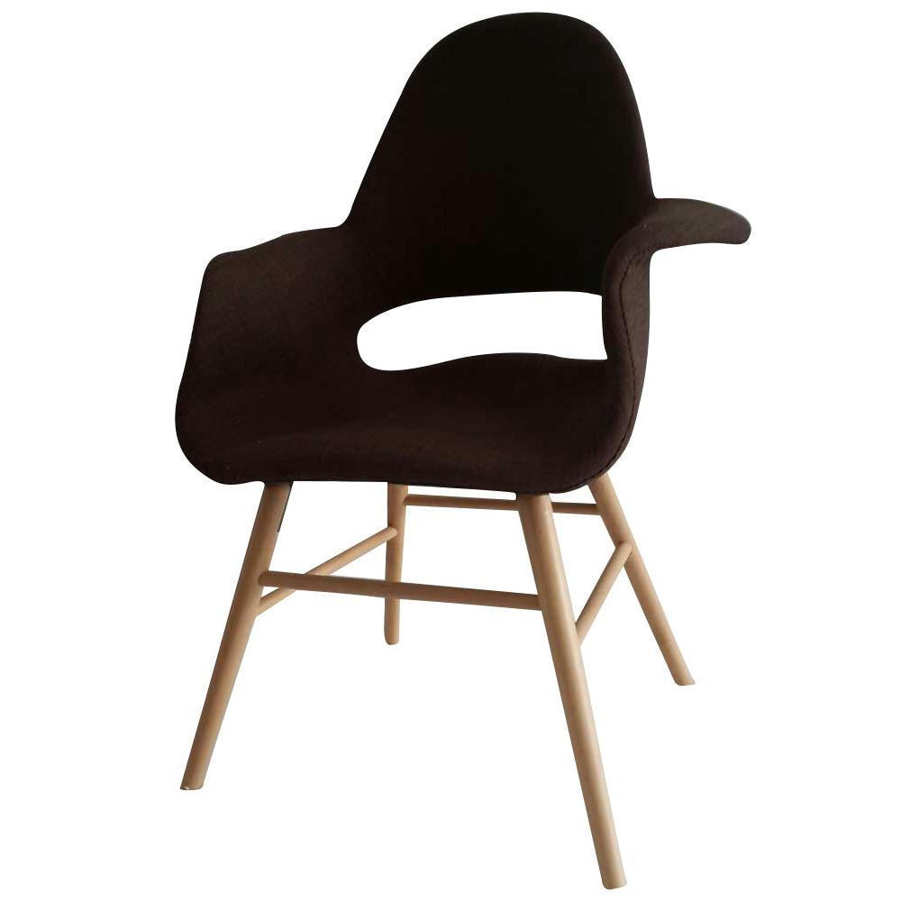 Brown Eero Dining Chair