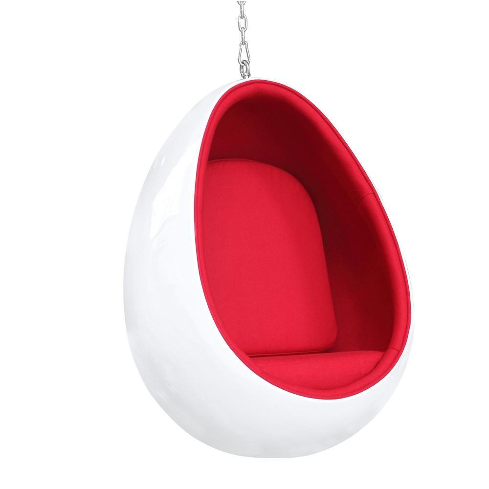White Egg Hanging Chair