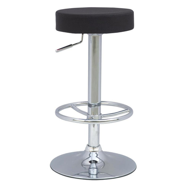 Black Ex Bar Stool