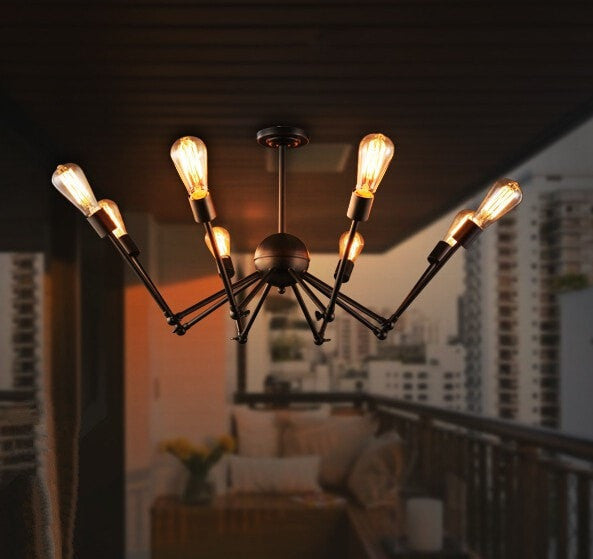Expansion Bedroom Office Spider Ceiling Light