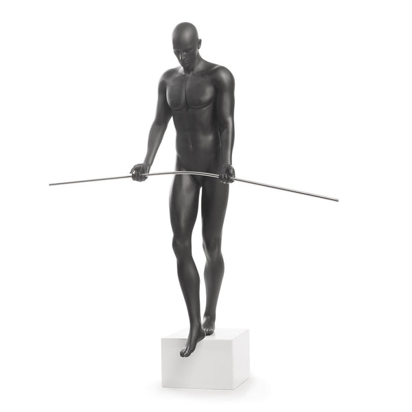 Finesse Décor- Balancing Man Sculpture- Black