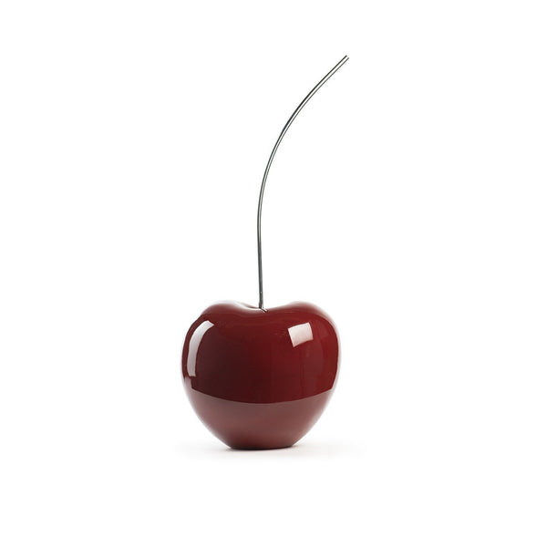 Finesse Décor- Burgundy Cherry Sculpture- Medium