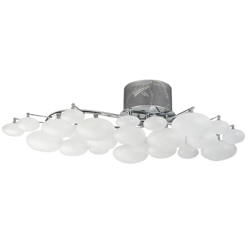 Finesse Lighting- Blanc Grand Oeuf- Flush