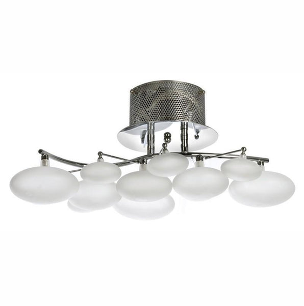 Finesse Lighting- Blanc Petit Oeuf- Chandelier