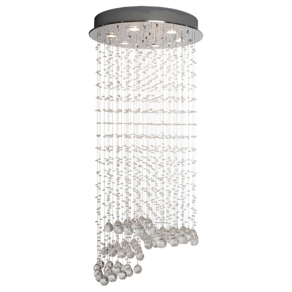 Finesse Lighting- Cystal Waterfall- Flush