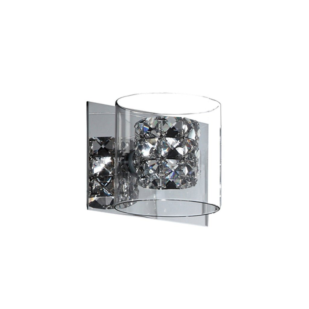 Finesse Lighting- Vintage Chrome Vanity- Single light