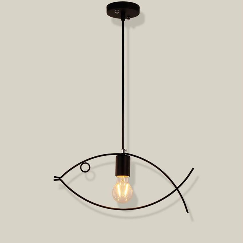 Buy Industrial Style Pendant Lamp And Wall Light At Lifeix: Buy Creative Fish Pendant Lighting Fixture At Lifeix