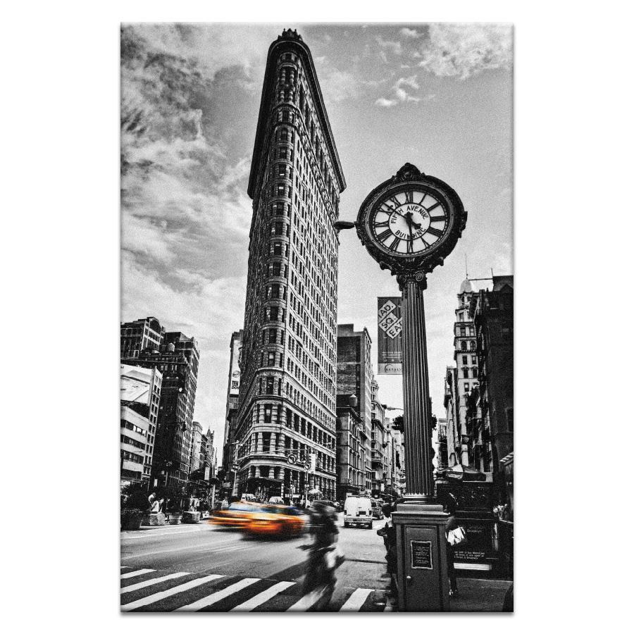 "Artwork 20x30x1.5"" Flatiron Rush Artwork by Andrew Paranavitana"
