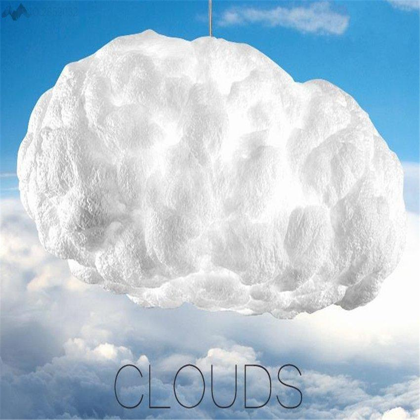 Floating Clouds pendant lamp Creative White Clouds hanging light for living room Bar Cafe home lighting Decoration at Lifeix Design